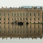 Chatsworth 2016_house reflected in canal pond