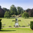 A view of the Great Lawn at Dyffryn Gardens, Vale of Glamorgan