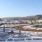 Trentham 2016_The Italian Garden snow late Jan