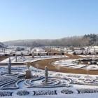 Trentham 2016_The Italian Garden snow late Jan
