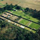 Holkham aerial shot