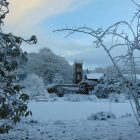 Rowallane in Snow